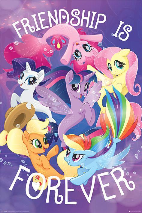 Макси плакат Pyramid - My Little Pony Movie (Friendship is Forever) - 1