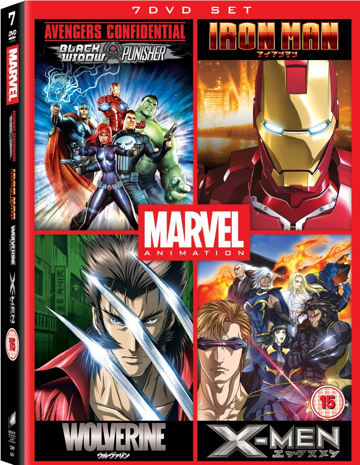 Marvel Anime Collection (DVD) - 1