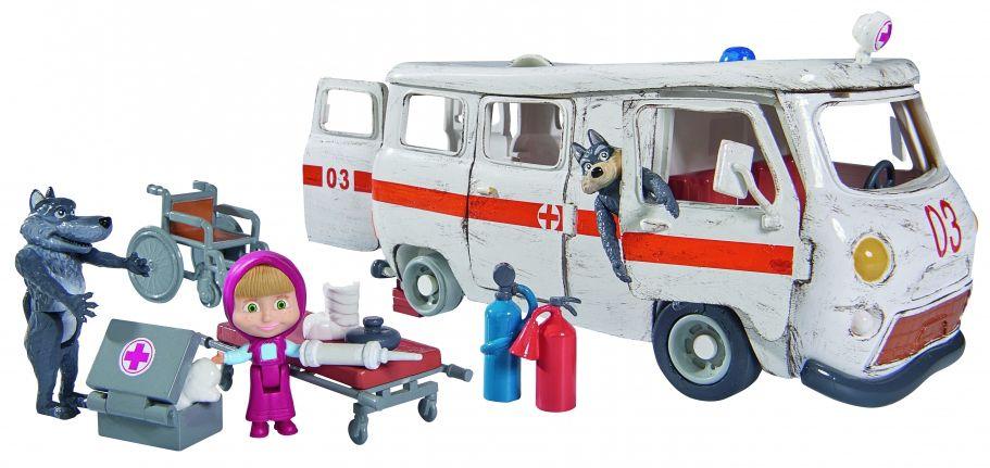 Маша и Мечока - Линейката на вълците - 1