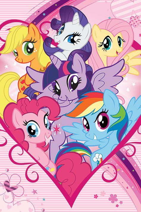 Макси плакат Pyramid - My Little Pony (Group) - 1