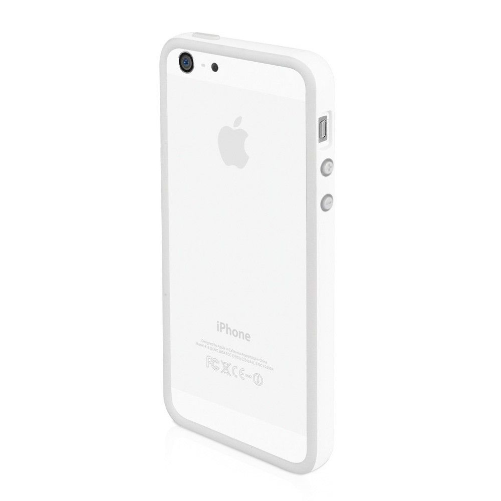 Macally Frame за iPhone 5 -  бял - 3