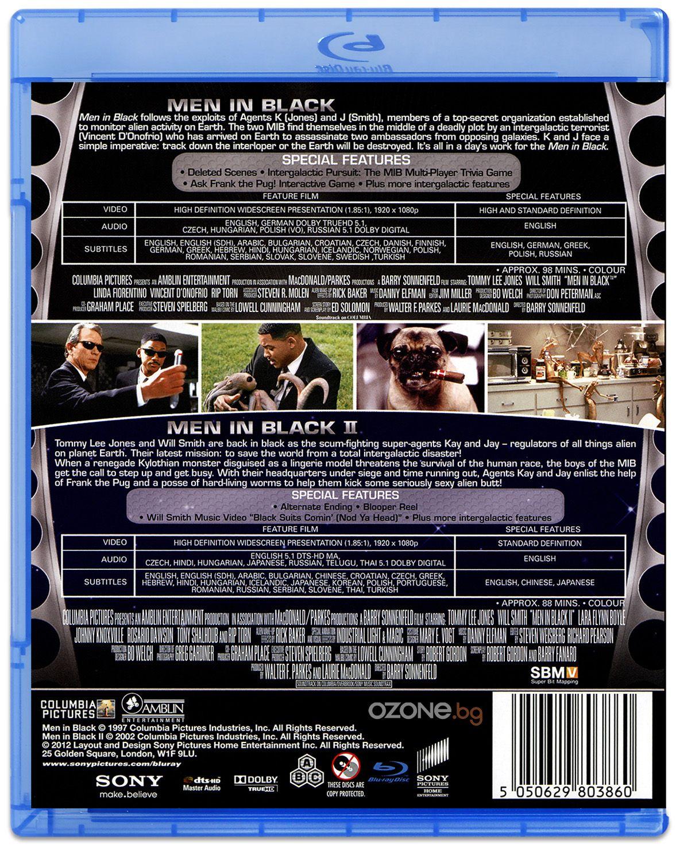 Мъже в черно 1 & 2 (Blu-Ray) - 2