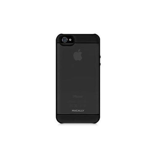 Macally See-Thru Hard Shell Case  за iPhone 5 -  черен-прозрачен - 4