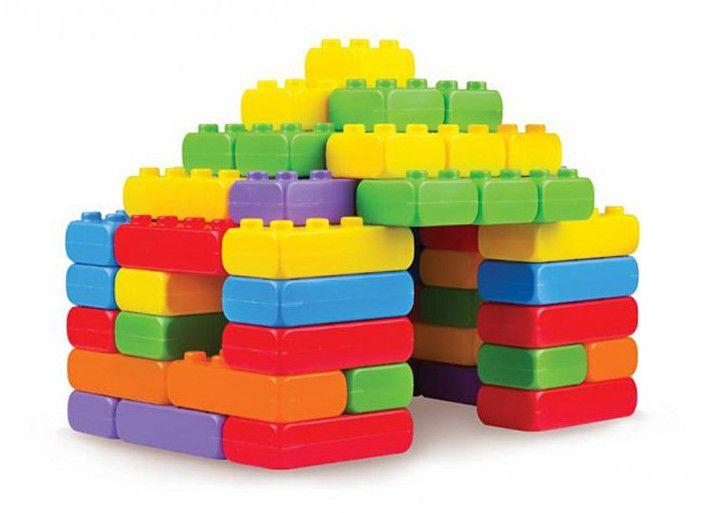 Детски конструктор Junior Bricks от 60 части - 1