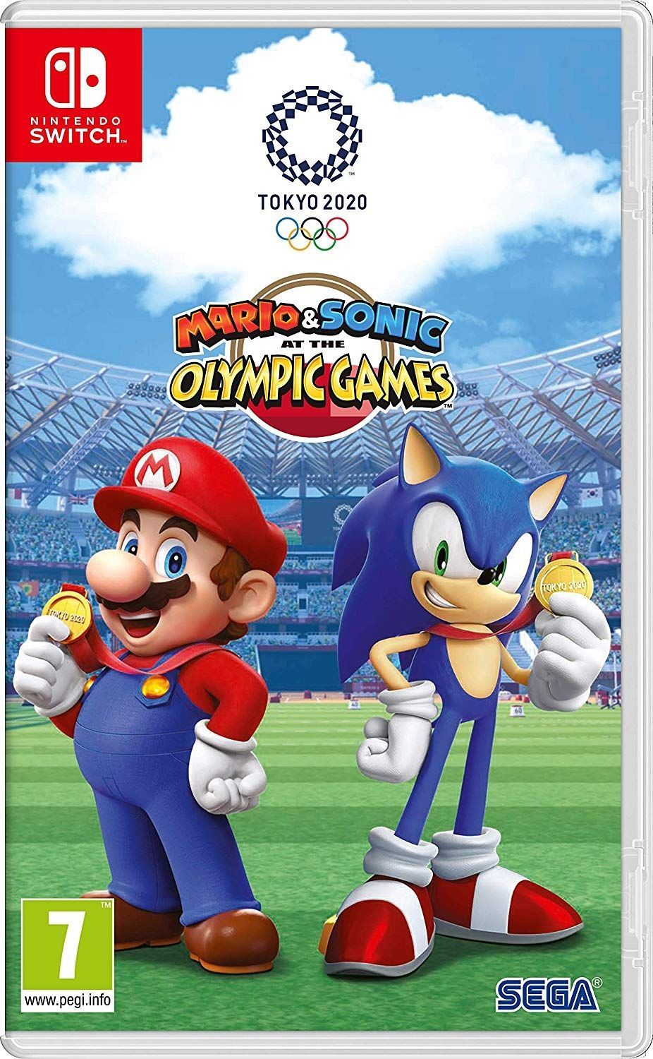 Mario & Sonic at the Olympic Games Tokyo 2020 (Nintendo Switch) - 1