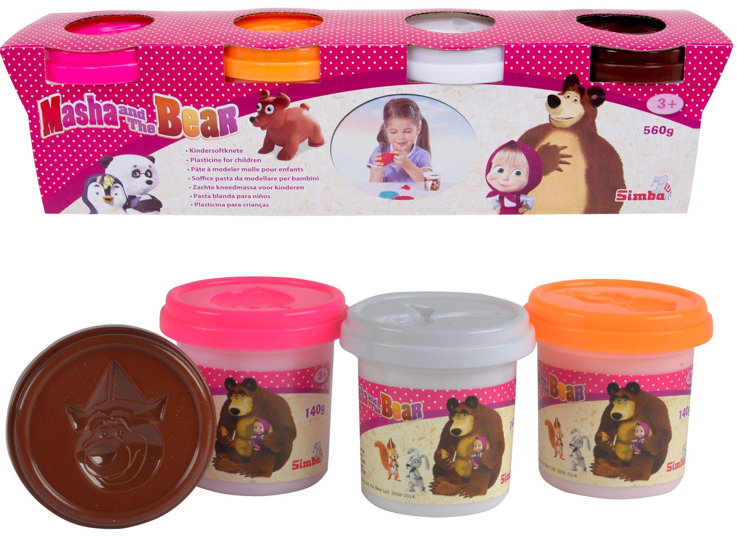 Моделин Simba Toys - Маша и мечока - 2