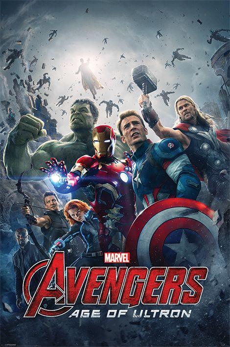 Макси плакат Pyramid - Avengers: Age Of Ultron (One Sheet) - 1