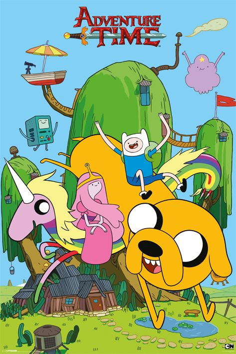 Макси плакат - Adventure Time (House) - 1
