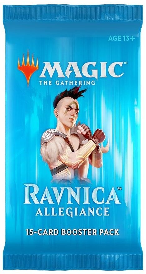 Magic the Gathering Ravnica Allegiance Booster Pack - 4