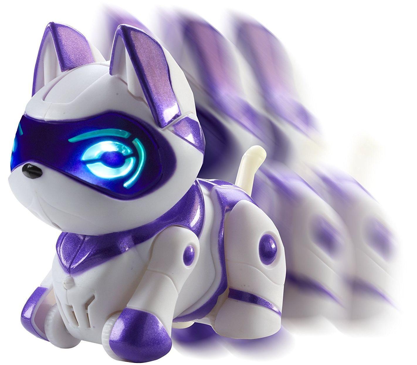 Интерактивна играчка Manley TEKSTA Micro Pets - Робот, Коте - 3