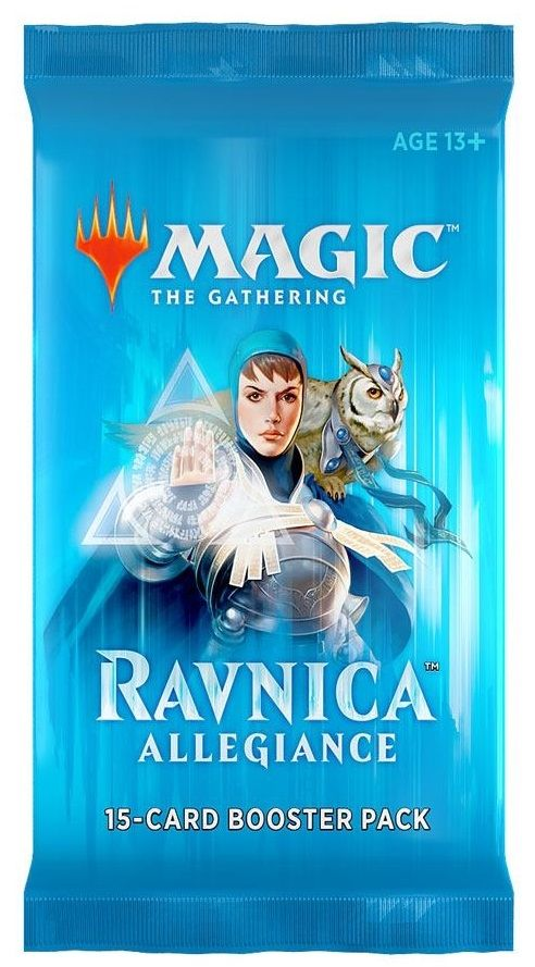 Magic the Gathering Ravnica Allegiance Booster Pack - 3
