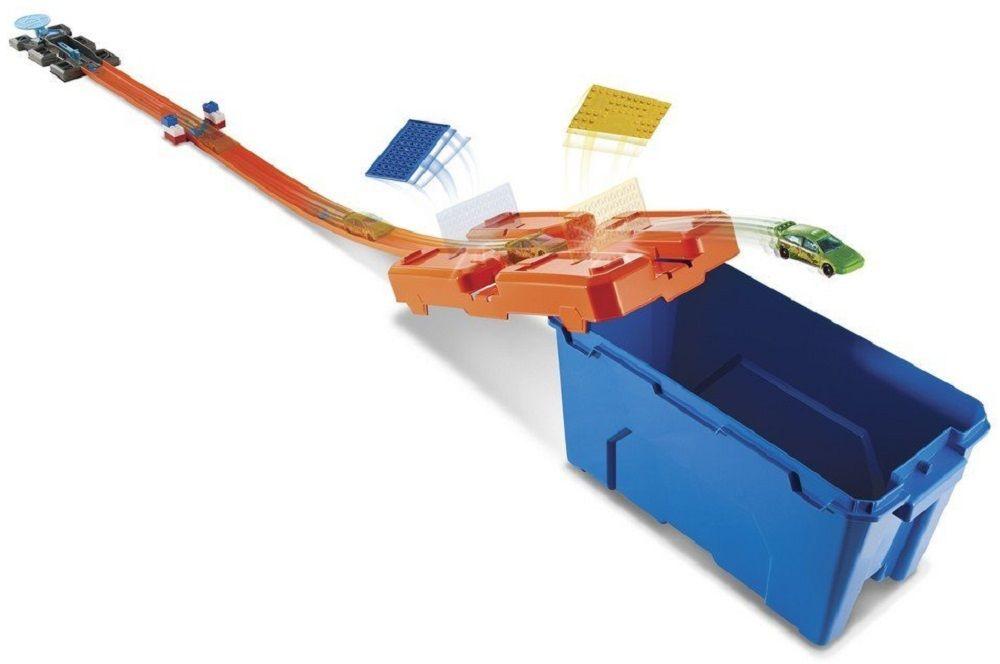 Игрален комплект писта Hot Wheels от Mattel – С количка и тухлички - 2