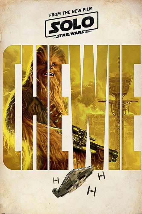Макси плакат Pyramid - Solo: A Star Wars Story (Chewie Teaser) - 1
