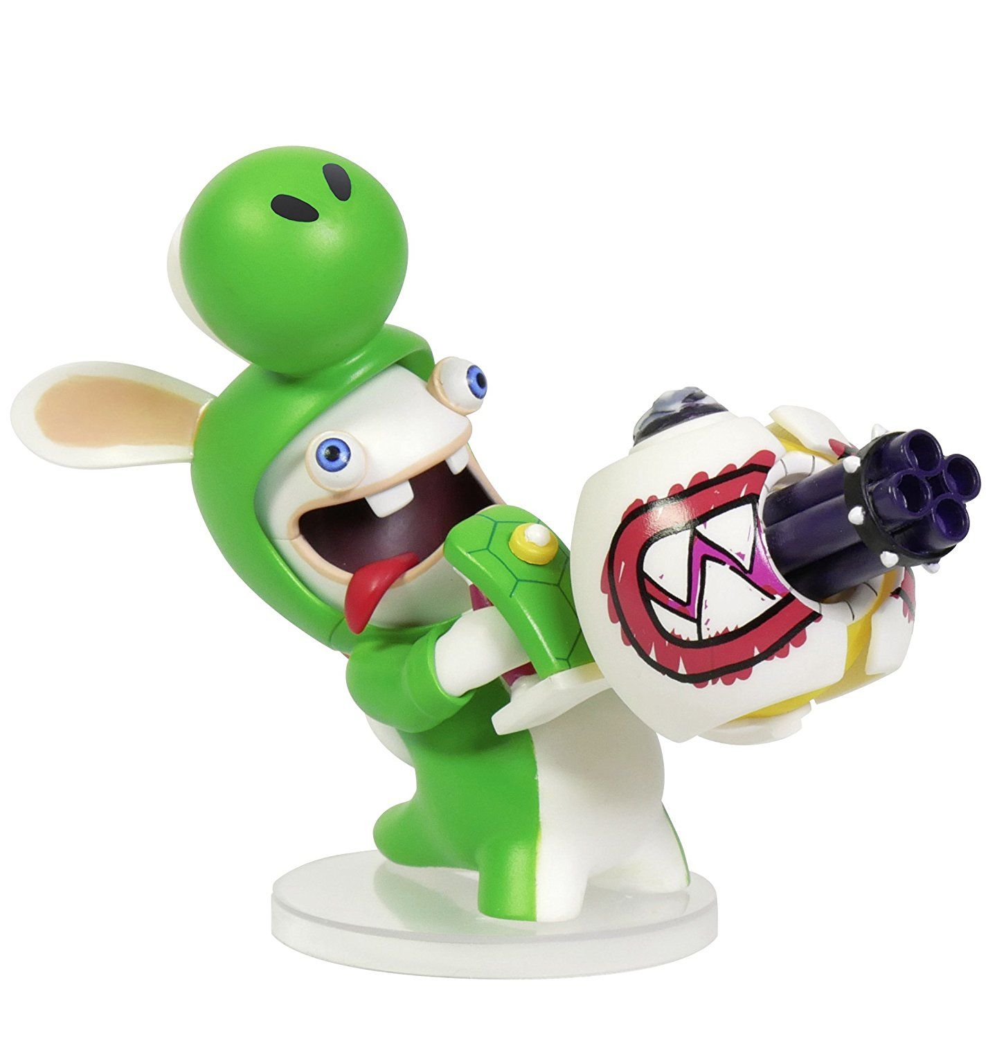 Mario + Rabbids Kingdom Battle: Rabbid Yoshi 3'' Figurine - 1
