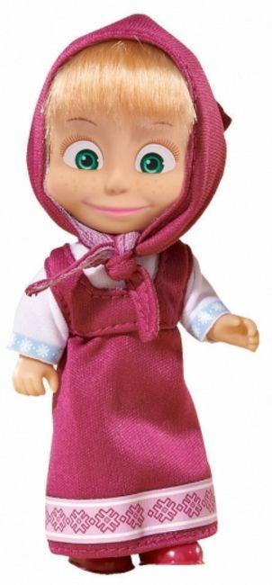Кукла Simba Toys - Маша с розова рокля и забрадка - 1