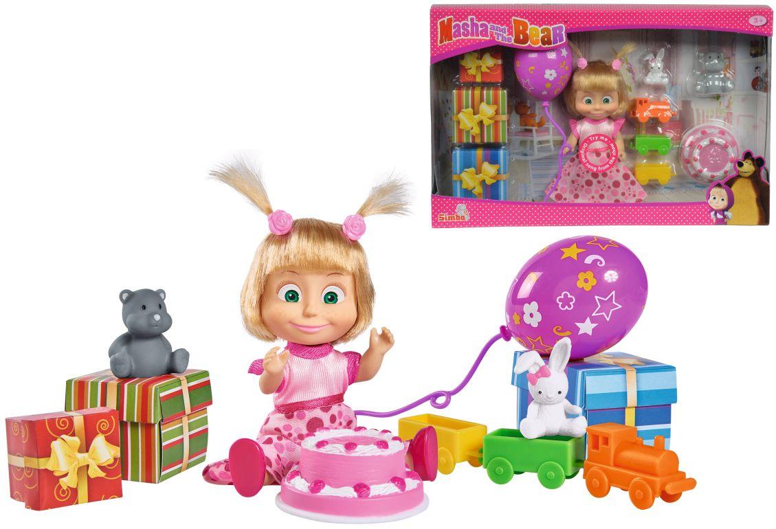Кукла Simba Toys Маша и Мечока - Маша, Сет рожден ден - 2