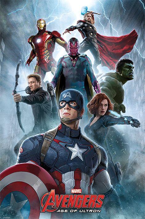 Макси плакат Pyramid - Avengers: Age Of Ultron (Encounter) - 1