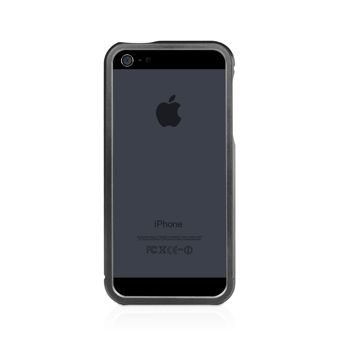 Macally Aluminium Frame за iPhone 5 -  черен - 3