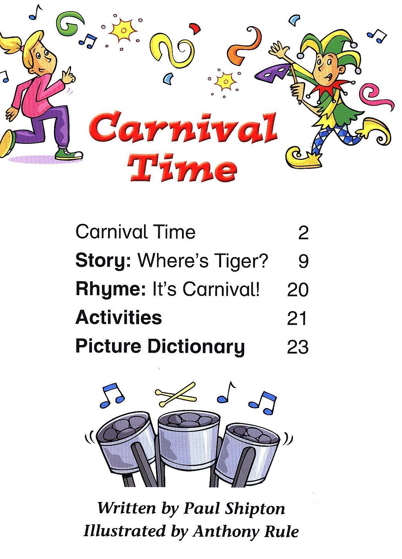 Macmillan Children's Readers: Carnival time (ниво level 2) - 3