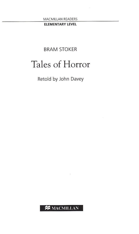 Macmillan Readers: Tales of Horror  (ниво Elementary) - 3