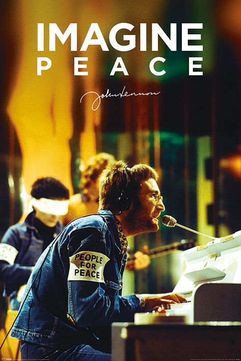 Макси плакат Pyramid - John Lennon (People For Peace) - 1