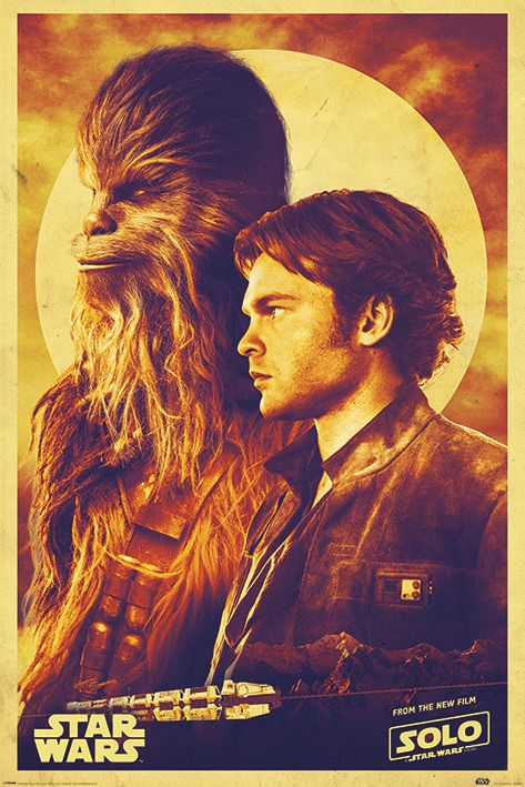 Макси плакат Pyramid - Solo: A Star Wars Story (Han and Chewie) - 1