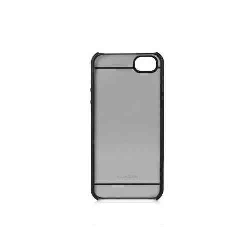Macally See-Thru Hard Shell Case  за iPhone 5 -  черен-прозрачен - 3