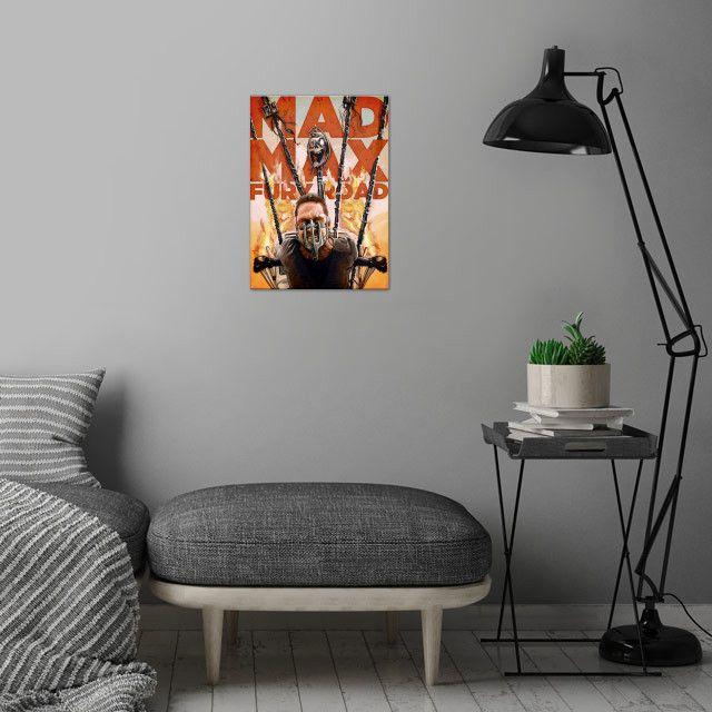 Метален постер Displate - Mad Max - Fury Road - 4