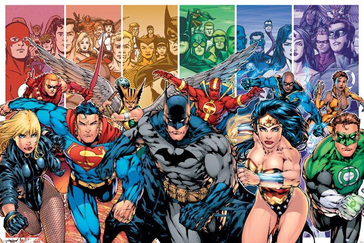 Макси плакат Pyramid - Justice League America (Generations) - 1