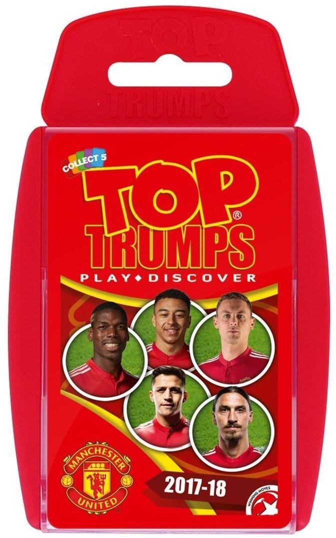 Игра с карти Top Trumps - Manchester United FC - 1