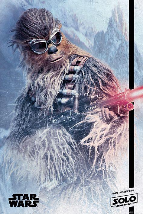 Макси плакат Pyramid - Solo: A Star Wars Story (Chewie Blaster) - 1
