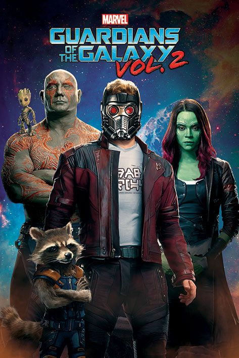 Макси плакат Pyramid - Guardians of the Galaxy Vol, 2 (Characters In Space) - 1