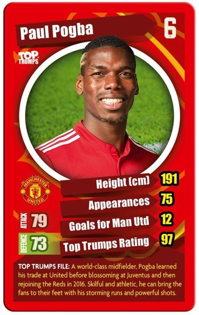 Игра с карти Top Trumps - Manchester United FC - 4