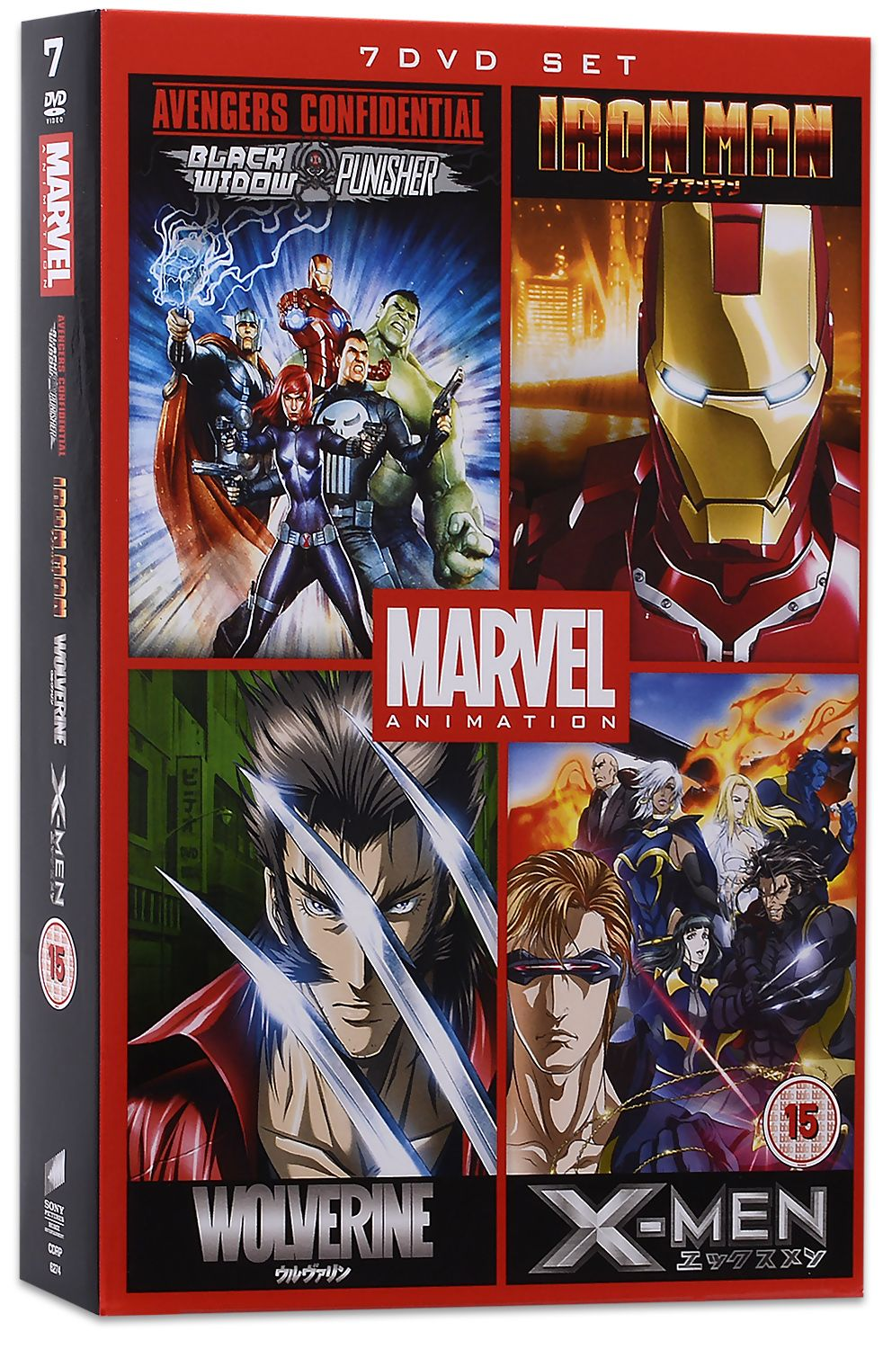 Marvel Anime Collection (DVD) - 2