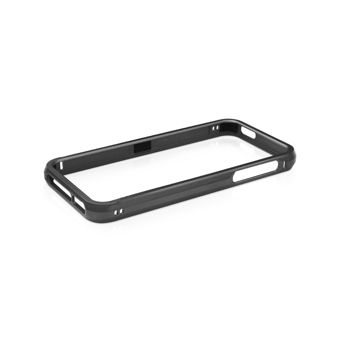 Macally Aluminium Frame за iPhone 5 -  черен - 1