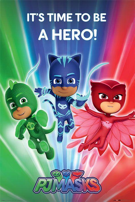 Макси плакат Pyramid - PJ Masks (Be a Hero) - 1