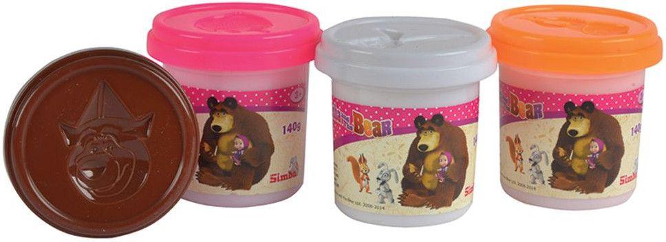 Моделин Simba Toys - Маша и мечока - 1