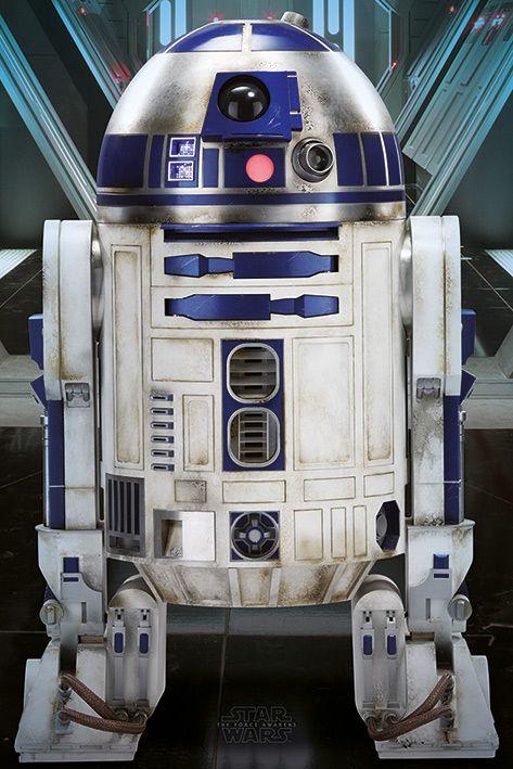 Макси плакат Pyramid - Star Wars Episode VII (R2-D2) - 1