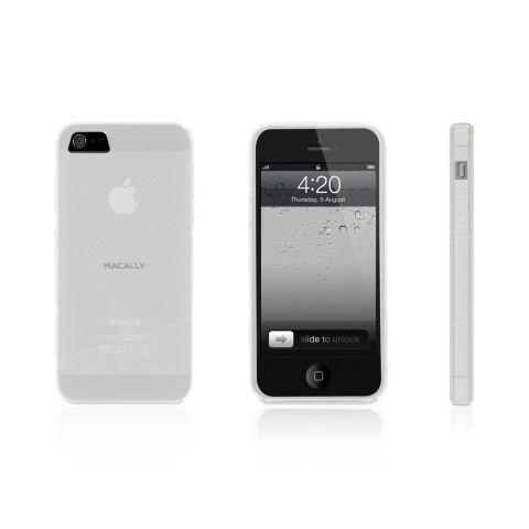 Macally FlexFit за iPhone 5 -  прозрачен - 1