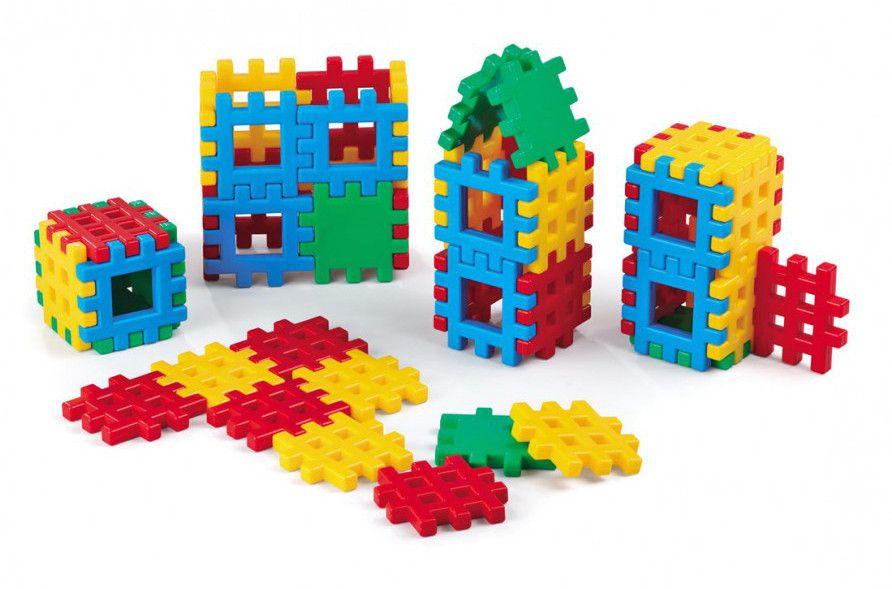 mario-inex-900-260-detski-konstruktor-ot-vaflen-blokcheta-48-chasti - 1