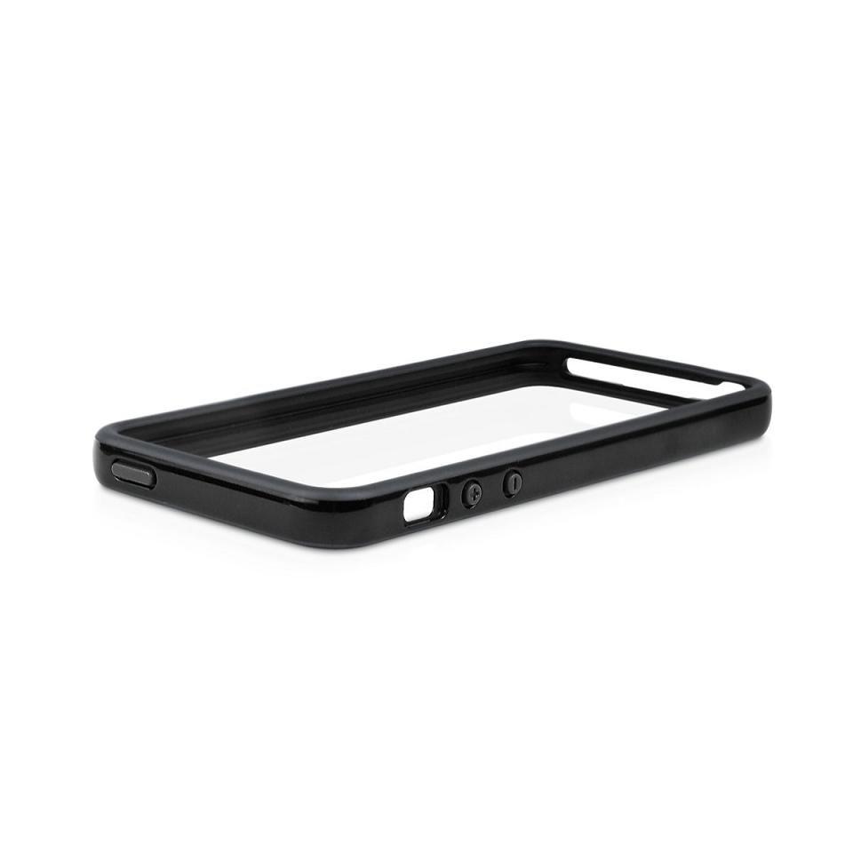 Macally Frame за iPhone 5 -  черен - 2