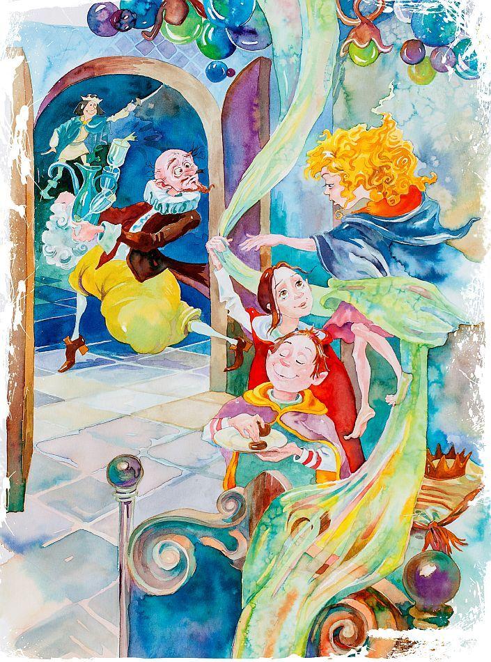 Малките магьосници от 0-III. Произшествие второ: Принц Храбър и Небесното кралство - 3