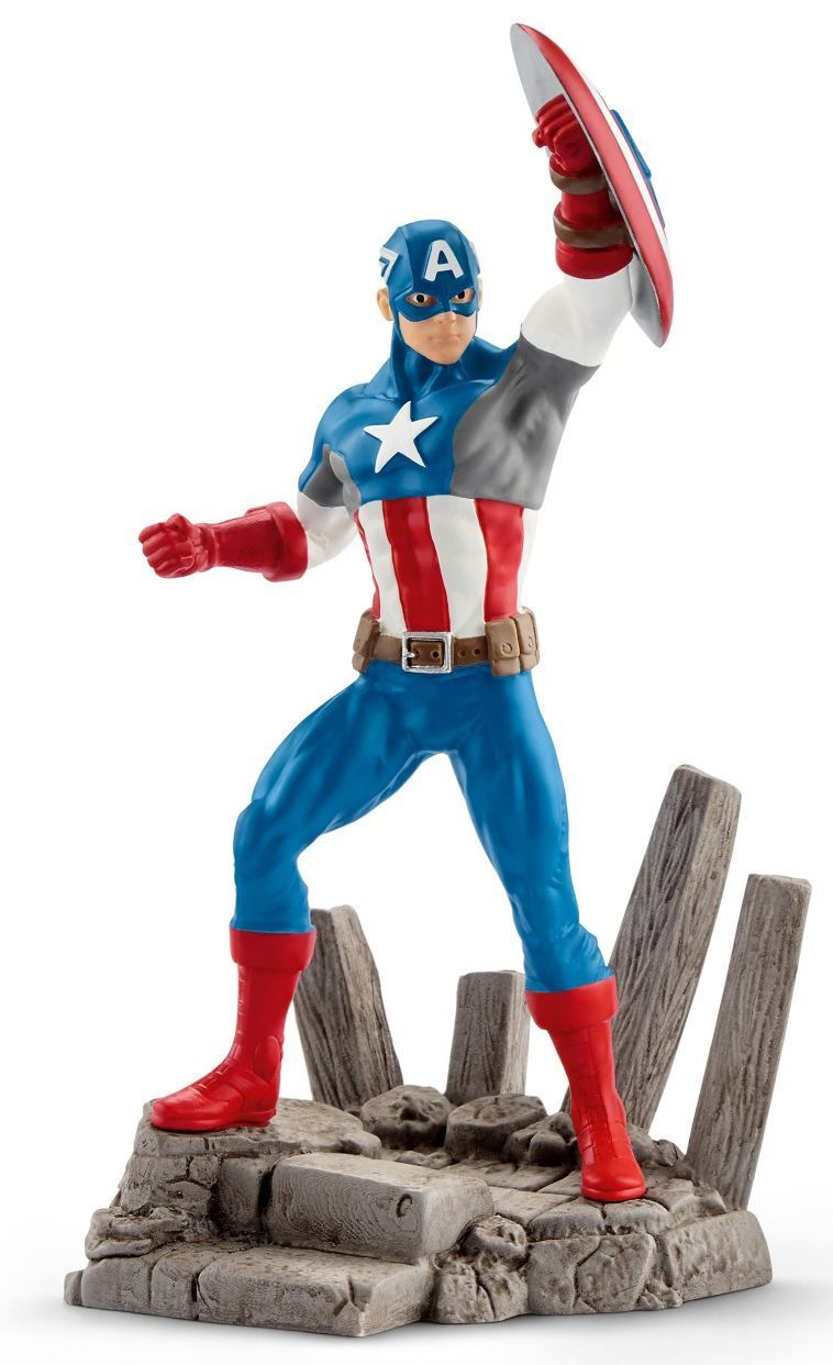 Фигурка Schleich от серията Марвел – Капитан Америка - 1
