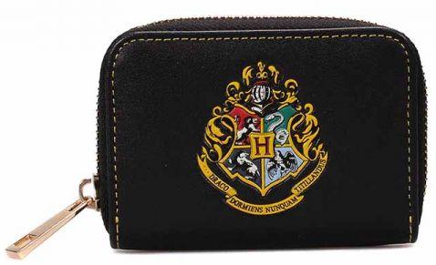 Портмоне за монети Half Moon Bay - Harry Potter: Hogwarts Crest - 1