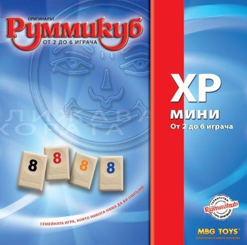 Настолна игра MBG Toys - Румми куб XP мини - 1