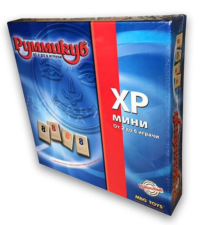 Настолна игра MBG Toys - Румми куб XP мини - 2