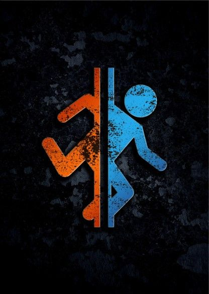 Метален постер Displate - Portal 2 - 1
