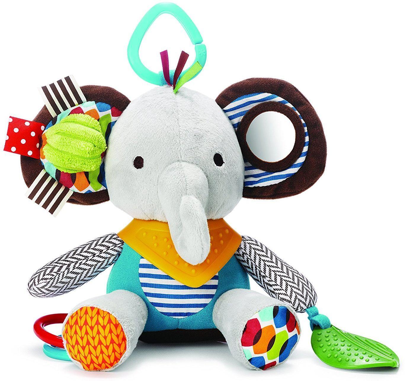Мека играчка Skip Hop - Слонче, с гризалка - 1