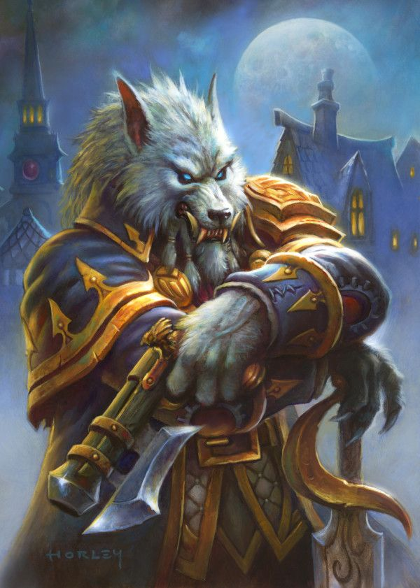 Метален постер Displate - Hearthstone: Genn Greymane - 1