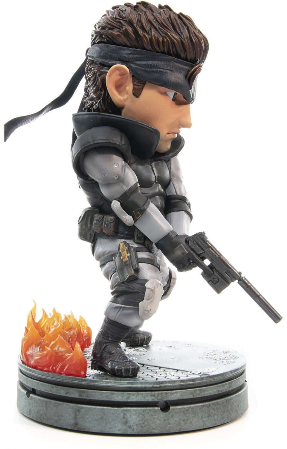 Статуетка First 4 Figures Metal Gear Solid - Solid Snake SD, 20cm - 2